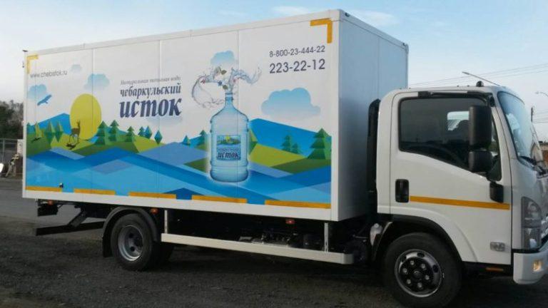 Брендирование авто Чебаркульский Исток